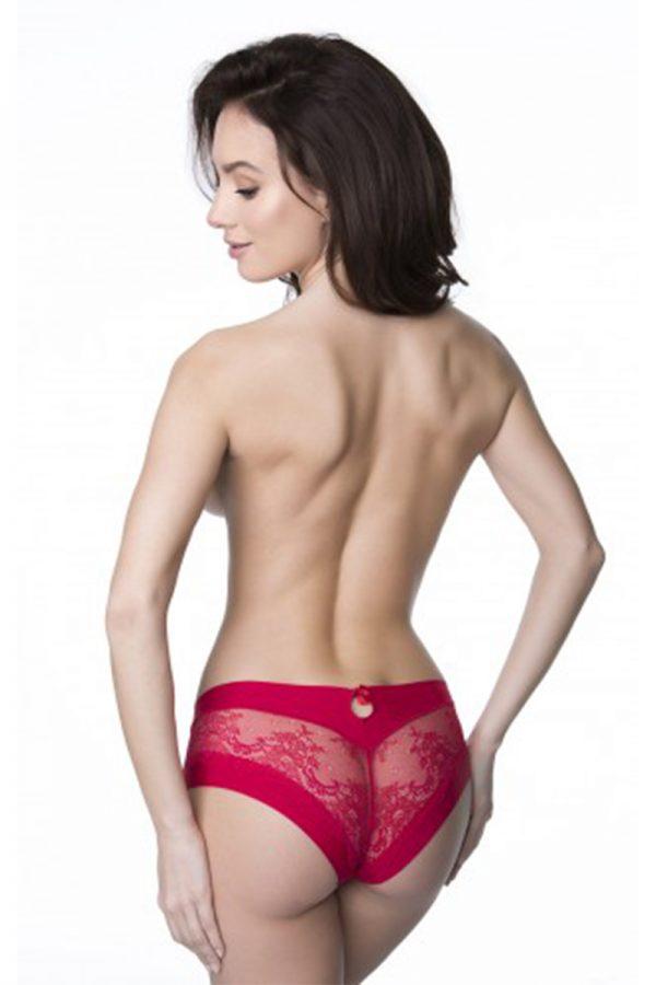 Červené nohavičky Kiss Panty