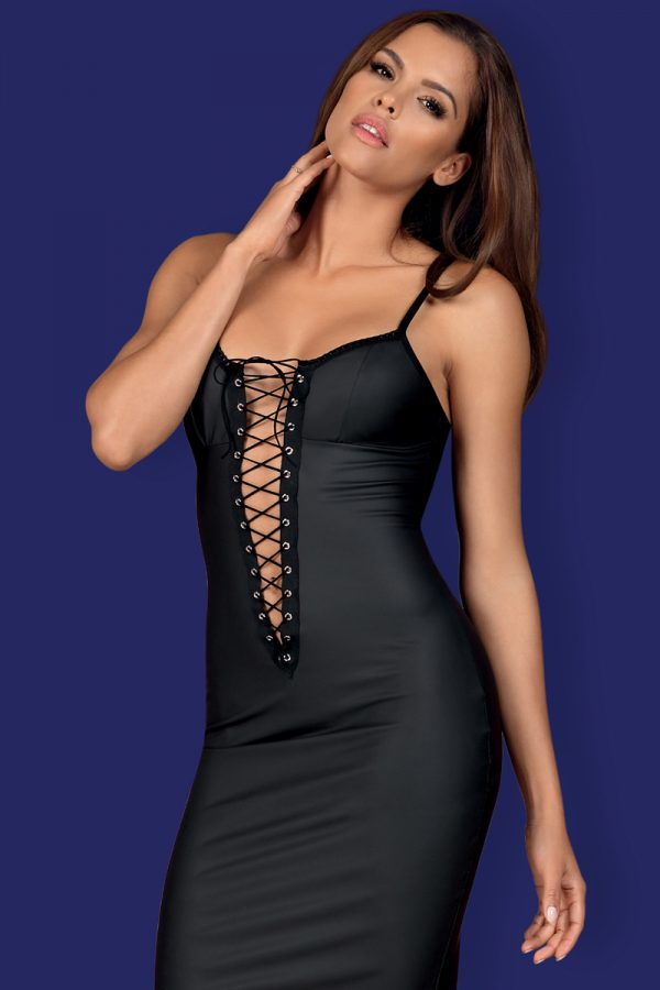 Čierne šaty Rebella