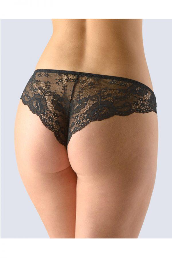 Čierne brazílske nohavičky 16101