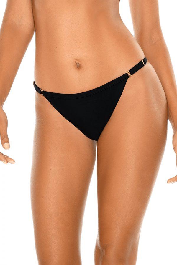 Čierne brazílske plavkové nohavičky Trends