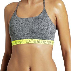Žlto-sivá športová podprsenka Seasonal Solids Soft Top