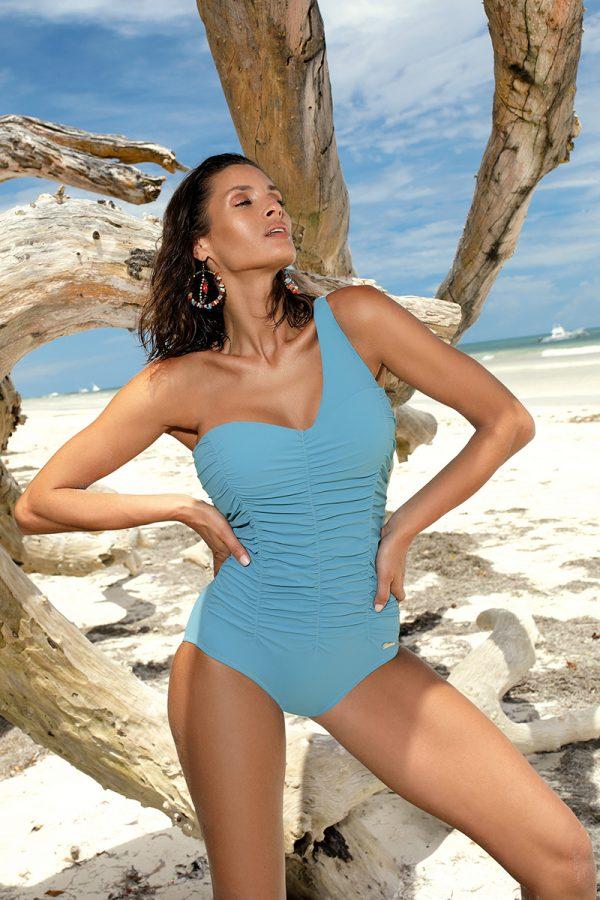 Modré push-up plavky Gabrielle