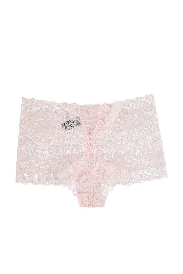 Ružové dámske boxerky Lace Night