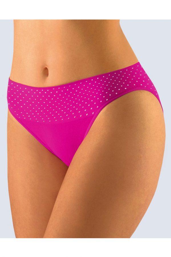 Ružové nohavičky s úzkym bokom Gina 00032P