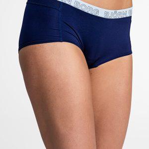 Tmavomodré boxerky Seasonal Solids Minishorts