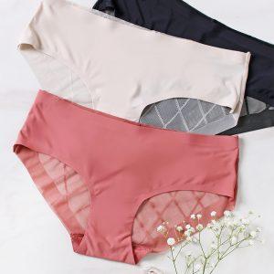 Trojbalenie nohavičiek Criss Cross Dream Hipsters - ružová + béžová + čierna