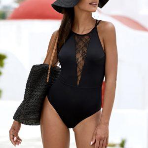 Čierne plavky Amalie