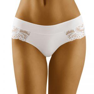 Biele brazílske nohavičky Cara