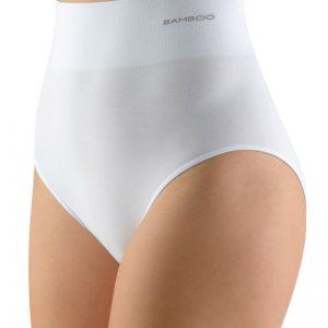 Biele nohavičky s vysokým pásom 00040