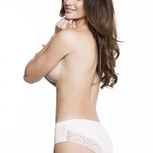 Biele bezšvové nohavičky Cheekie Panty
