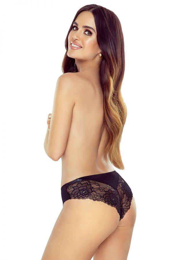 Čierne brazílske nohavičky Cleo