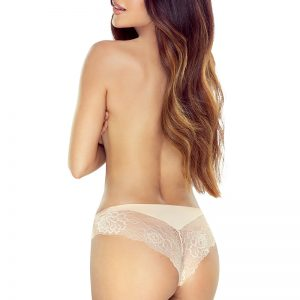 Béžové brazílske nohavičky Cleo