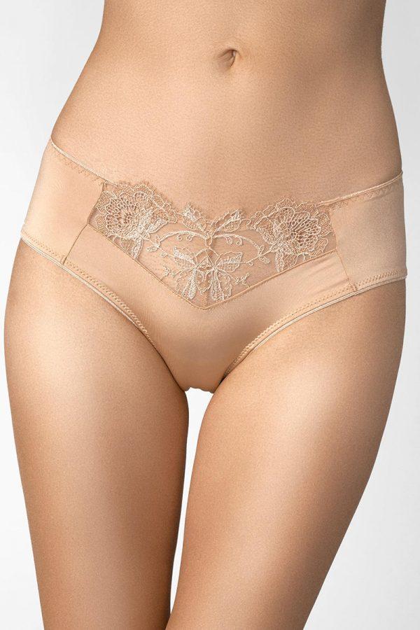 Telové nohavičky s čipkou Romance