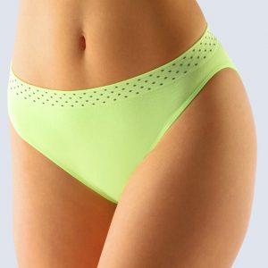 Svetlozelené nohavičky Gina 00033P