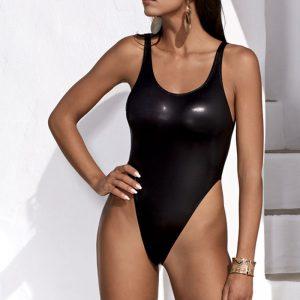 Čierne plavky Cordelia