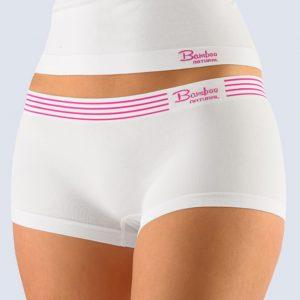 Biele boxerky Gina 03012P
