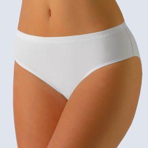 Biele klasické nohavičky Gina 10140P