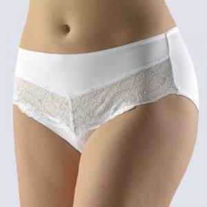 Biele nohavičky s čipkou 10211