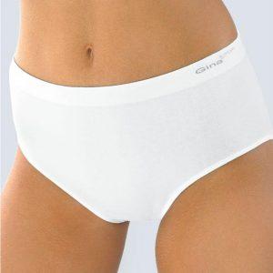 Biele nohavičky s vyšším pásom MAMA 01001P