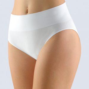 Biele nohavičky so širokým bokom 00026