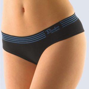 Čierne francúzske nohavičky Gina  04024P