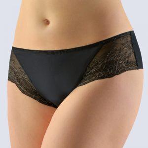 Čierne francúzske nohavičky s čipkou 14139
