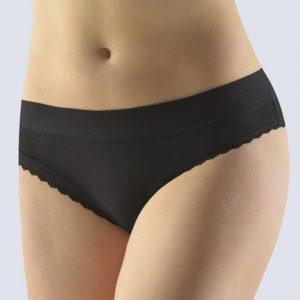 Čierne nohavičky so širokým bokom 16140