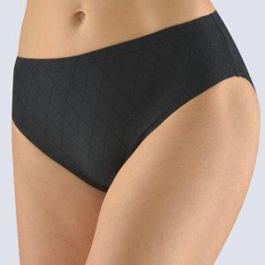 Čierne vzorované nohavičky 10225