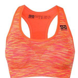 Oranžová športová podprsenka Gatta Fitness Bra