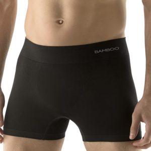 Pánske čierne boxerky 54005