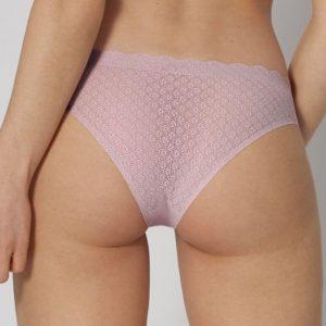 Svetlofialové nohavičky Zero Feel Lace Brazil Panty