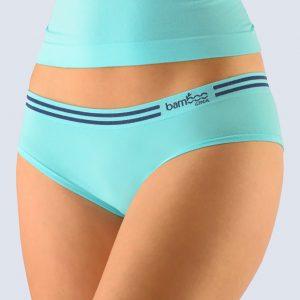 Tyrkysové francúzske nohavičky Gina 04021P
