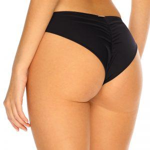 Čierne plavkové brazílske nohavičky Trends